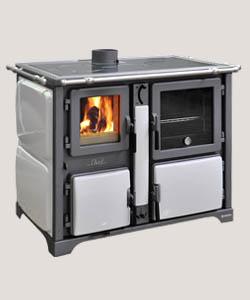 Stufe a legna bosky chef f vintage con forno - Termocucine a legna thermorossi prezzi ...